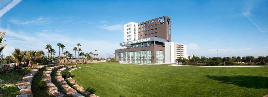 Hotel parco dei principi zanussi professional italia for Design dello spazio esterno